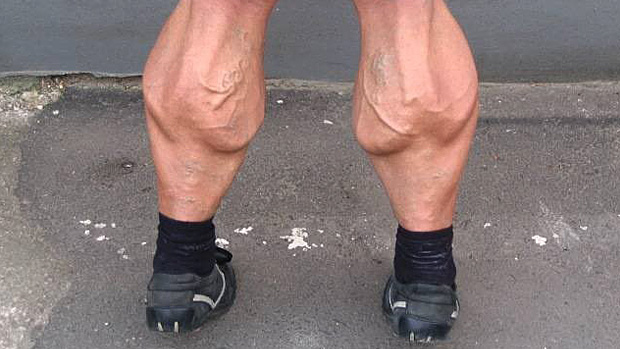 pump the gastrocnemius muscle