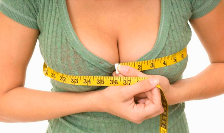 pump up a woman's breasts with exercises