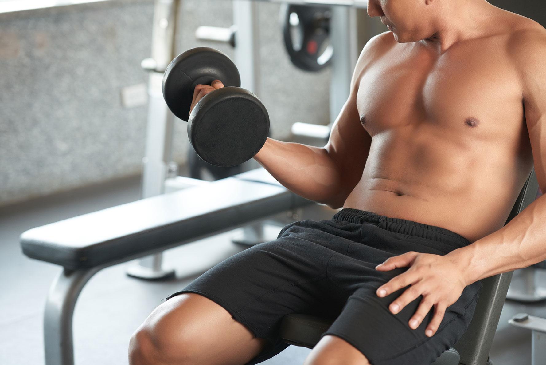 bodybuilding and acne
